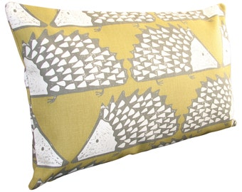 Scion Spike Hedgehog Honey Bolster Cushion Cover