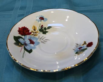 Delphine Bone China Saucer for Teacup Replacement