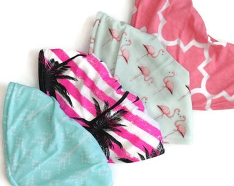 Baby bandana bibs-baby gift set-baby bib set-baby gift basket-new baby gift basket-baby gift pack-bandana bibs-baby shower set, bibs