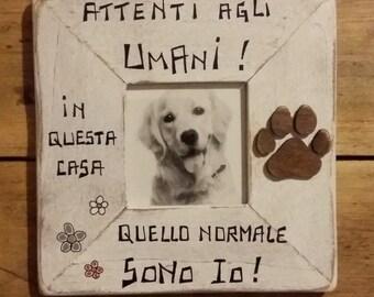 "Sign-frame ""Dog-Paw"""
