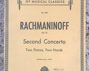 Concerto No. 2 In C Minor, Op. 18 Sheet Music - Piano, 2 Pianos, 4 Hands - SMP Level 10 (Advanced)