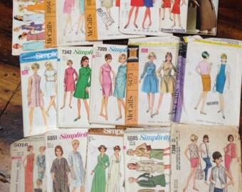 Sewing Patterns Vintage 1965 to 1969