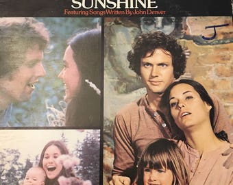 Sunshine Original Motion Soundtrack Record LP