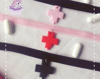 Bloody Hospital chokers menhera yamikawaii