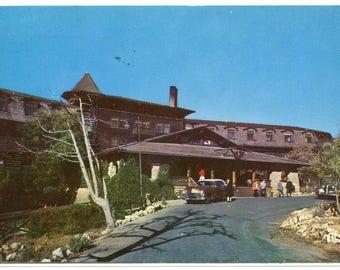El Tovar Hotel Grand Canyon National Park Arizona 1961 postcard