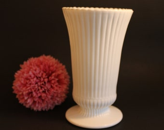 Clearance Discounted E.O. Brody Milk Glass Vase M5000