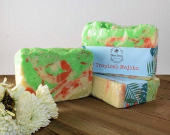 Tropical Mojito Soap Approximately 5 oz