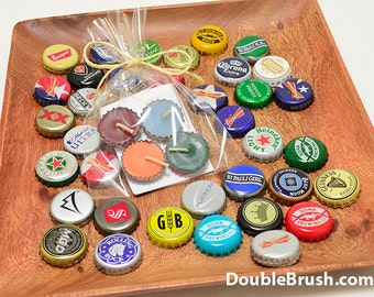 Beer Party Favors Beer Bottle Cap Candle Beer Gift Party Favors Beer Wedding Favors Octoberfest  Beer Cap Brewing Brews 4 Beeswax Tea Lights