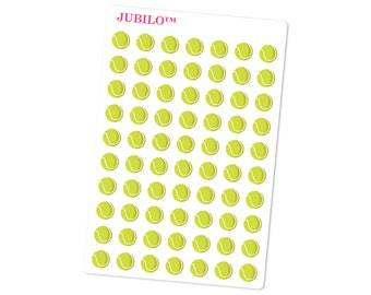 Planner Stickers - Tennis Balls - Tennis Stickers