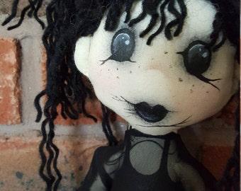 Handmade Gothic Doll