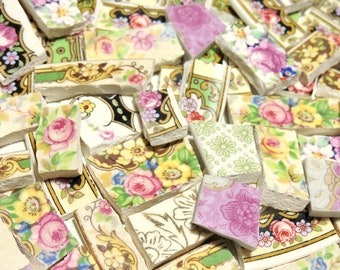 China Mosaic Tiles - ATQ. SHaBBY CHiC CoLLeCTiON - 135 Mosaic Tiles