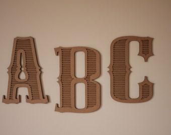 """8""""x10"""" Cardboard Letters"""