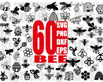 BEE SVG FILE, bee svg, bee clipart, insect svg, bee insect, bee file, clipart, stencil, vinyl cut files, iron on files, silhouette