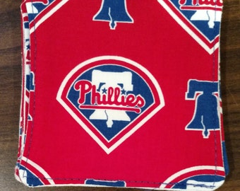 Philadelphia Phillies Baseball Drink Coasters Set of 4