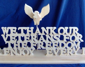 Veterans Commemorative Sign