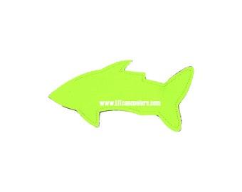 Saftey Yellow Shark Popsicle Holder