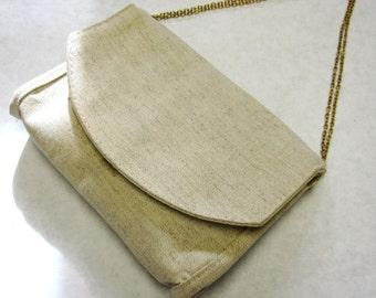 Oatmeal Clutch Ivory Purse Handbag