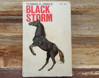 Black Storm, 1971, Thomas Hinkle, vintage book