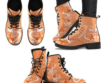 Leukemia Advocate/Leukemia Awareness/Leukemia Patient/Cancer of the Blood Boots - Gift For Leukemia Advocate / Patient
