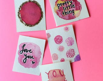 pretty in pink lunch notes