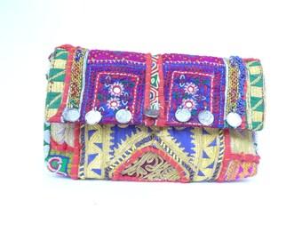 Vintage Indian Fabric Taj Bag 4