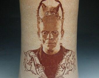 Frankenstein- Cat Brain- tumbler