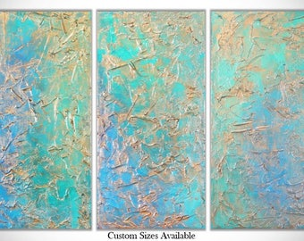 Abstract Painting, Original Painting, Turquoise Painting, Wall Art, Modern Art, Abstract Art, Abstract Painting, Canvas Painting, Large Art