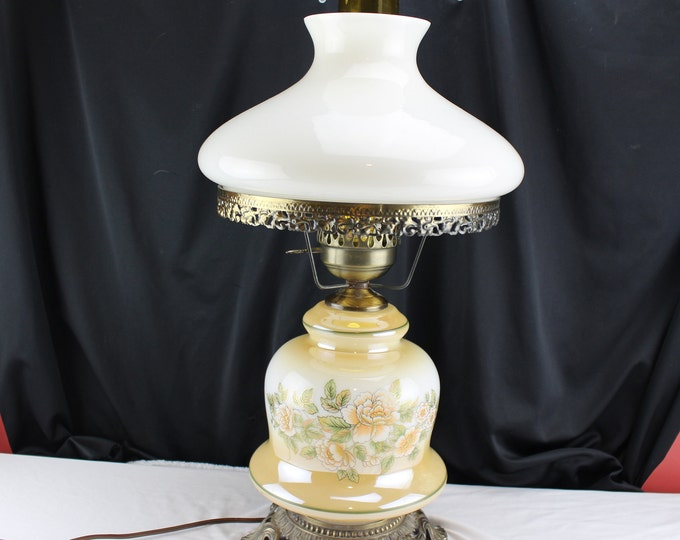 Vintage Gone With the Wind Table Lamp Electric GWTW Style Lighting Home Decor