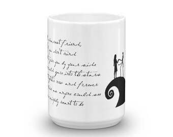 The Nightmare Before Christmas, Jack and Sally, Song Meant to Be Mug
