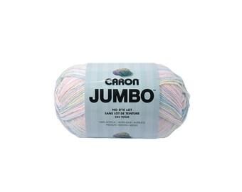 Baby Rainbow Caron Jumbo Print Yarn