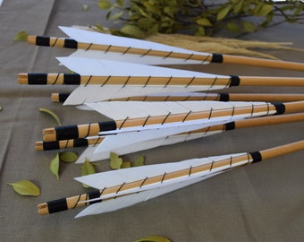 The Croí Traditional Archery Arrows (4)   Great For: traditional archery, medieval archery, wood longbow, wood longbow, primitive archery