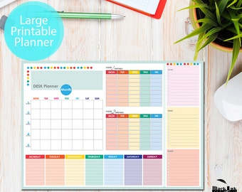 Teacher & Student Desk Planner