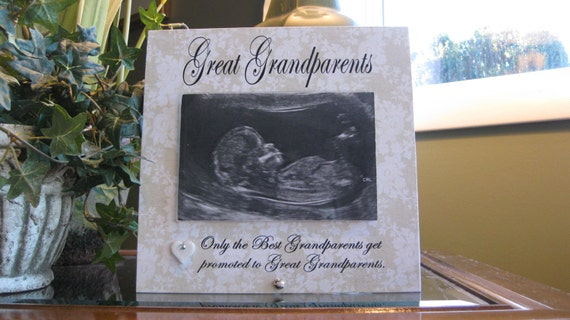 GREAT GRANDPARENTS gift, Great Grandparents frame, 4 x 6 photo ...