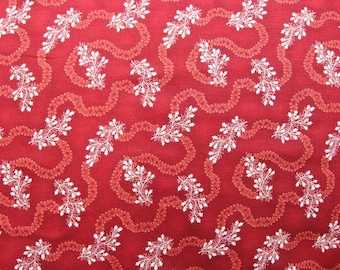 Sara's Stash by Sara Morgan for Blue Hill Fabrics - Red - 7412