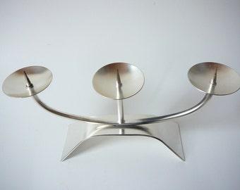 WMF Candle Holder silver coated German Wurttembergische Metallwarenfabrik AG