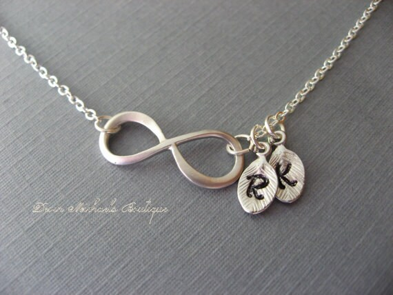 view infinity necklaces l online larger name monogram necklace sterling names diamonds beuniki silver with infinty hot