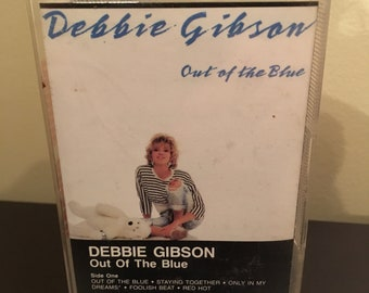 Vintage Debbie Gibson Out Of The Blue Cassette Tape