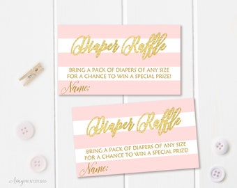 Diaper Raffle Tickets, Diaper Raffle Sign, Princess Baby Shower Diaper Raffle Tickets , Diaper Raffle Cards, Digital file, A11
