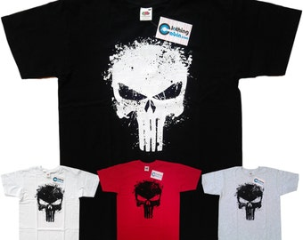 Punisher Skull Marvel Comics Frank Castle Antihero T shirt