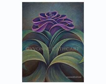 Flower wall art, flower poster, garden art, floral artwork, floral art print, plant print, wall art paintings, wall art prints, purple print