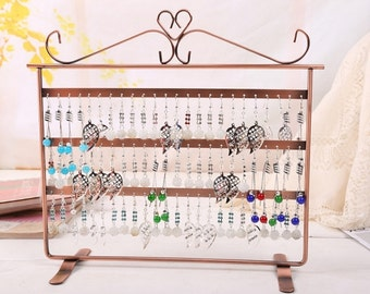72 Holes 3-Level Earrings Display Stand....Free Shipping in US!