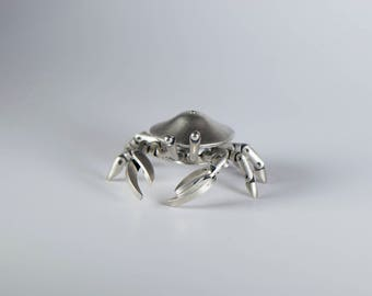 Cwabby. Action figure. Sterling silver.
