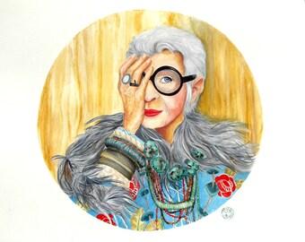 Iris Apfel Portrait