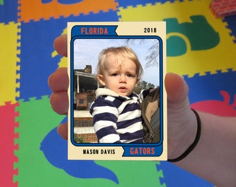 Custom Gators Baby Cards