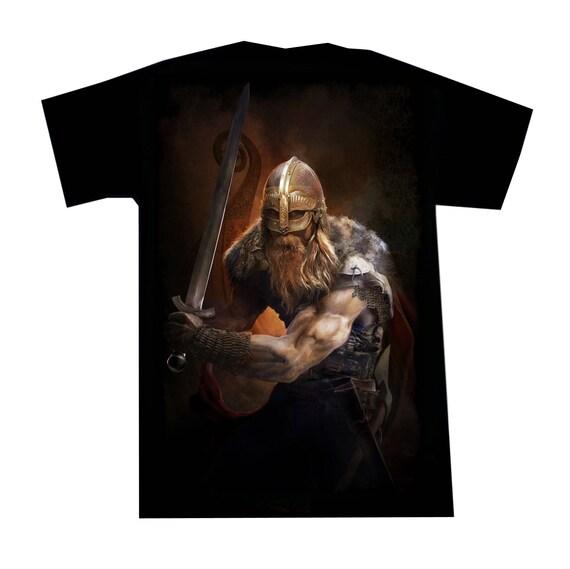 T-shirt Viking Sword Warrior ipVvGhimU