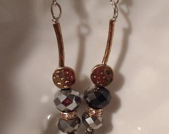Smokey Gray Earrings