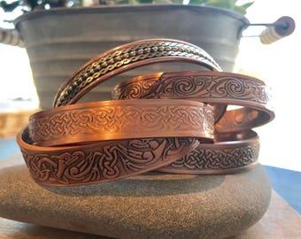 Small Magnetic Copper Bracelet // magnetic bracelet // copper bracelet // healing bracelet