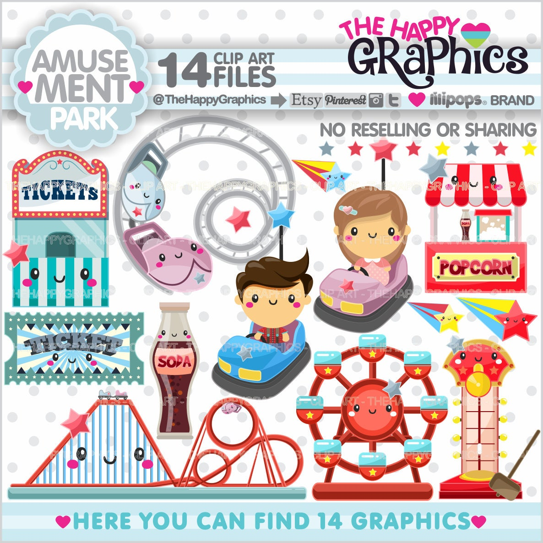 Amusement Park Clipart 80OFF Graphics COMMERCIAL