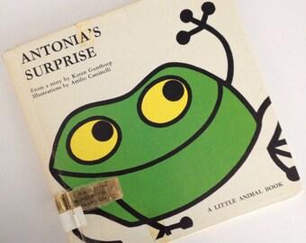 1967 Antonia's Surprise - by Karen Gunthorp - illustrations by Attilio Cassinelli