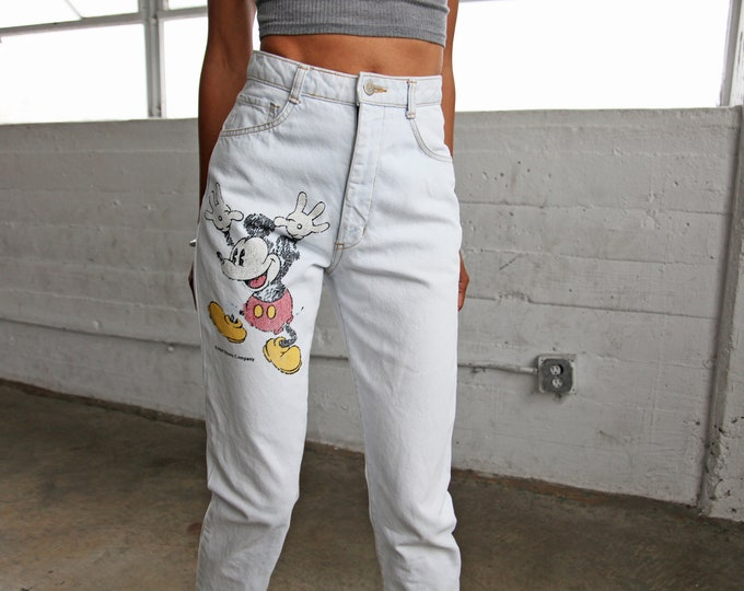 1990s Mickey Mouse Jeans